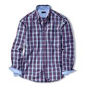 Мужская рубашка в клетку от ТСМ (германия ), ворот 45/46 , размер xxl