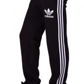 Мужские теплые спортивные штаны с лампасами