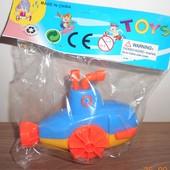 Водоплавающая игрушка заводная, батискаф.