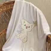 Детский плед одеяло Нежность