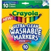 Crayola Крайола смывающиеся маркеры