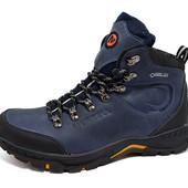 Зимние ботинки merrell gore-tex blue