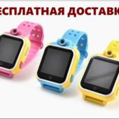 Детские умные часы-телефон q50, q90, q100, q200! Оригинал!  Акция! Тест 14 дней!