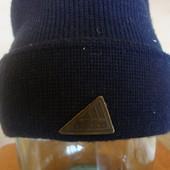 синяя Adidas котон/акрил
