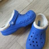 Распродажа! Утепленные кроксы Crocs Вьетнам, можно вместо тапочек