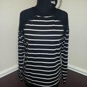 Стильный кофта свитер с гипюром promod