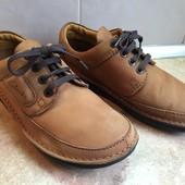 Туфли Clarks размер 42 по стельке 27,5см, отл.сост.