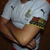 Фирменная оригинал футбольная футболка Puma Зб Ганны л-хл .