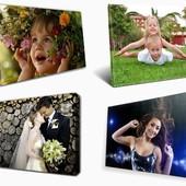 Печать фото на холсте. Картина или Ваша фотография. Стандартные и нестандартные размеры.