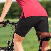 Велот шорты Crivit sport черные, размер М  (памперс coolmax fresh FH )