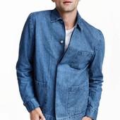Джинсовая рубашка H&M design by David Beckham