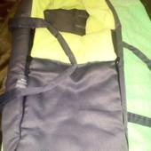 Чехол в каляску, муфта, матрасик, спальный мешок, конверт, сумка переноска для малюка.