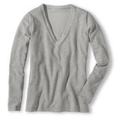 Пуловер с v-образным вырезом от TCM Tchibo германия, размер 40, 44  и 48евро