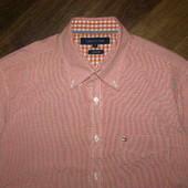 Tommy Hilfiger   рубашка с коротким рукавом. М-размер. Оригинал