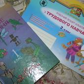 трудове навчання две книги с поделками - 40 грн