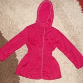 Теплая куртка осень-зима Debenhams на синтепоне для девочки, 9-10 лет, Италия
