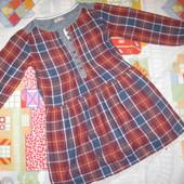 Next платье - сарафан туника для девочки 4-5 лет 110