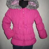 На 2-3,5 года Теплая деми куртка TU девочке