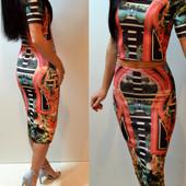 Новый Стильный Костюм(юбка и топ)
