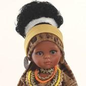 Кукла Нора Африканка 32 см Paola Reina 04555