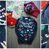 Рождественский свитер унисекс, р-р ХЛ