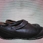 Стильные фирменные кожаные кроссовки - трансформеры Merrell США. 37 р.
