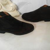 Мужские ботинки, полу-сапоги 41-42р (28cм) Германия, бренд,кожа