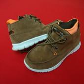 Ботинки Next натур замш 34-35 размер