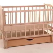 Детская кроватка ЯрОслав маятник и ящик