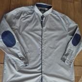 рубашка 47/48 размер отличное состояние  замеры: плечи 54,5 см, пог 70 см, пот 70 см, рукава 65 см,