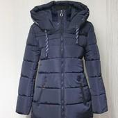 Пуховик женский 44размер куртка зимняя