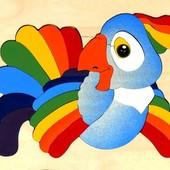 Мозаика «Попугай», Крона Артикул: 143-017