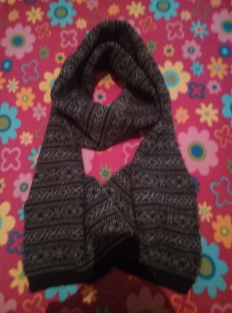 Теплый шарф унисекс фото №1
