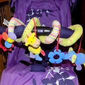 Спираль, растяжка, пружинка на коляску,  кровать, автокресло, Mothercare