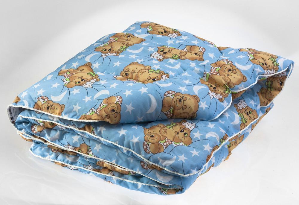 Одеяло детское стеганное, наполнитель-шерсть фото №1