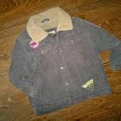 вельветовая курточка на меху Place  3- 4 года