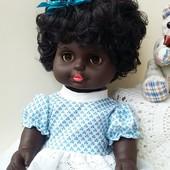 Кукла этническая негритоска Sonni Гдр Германия