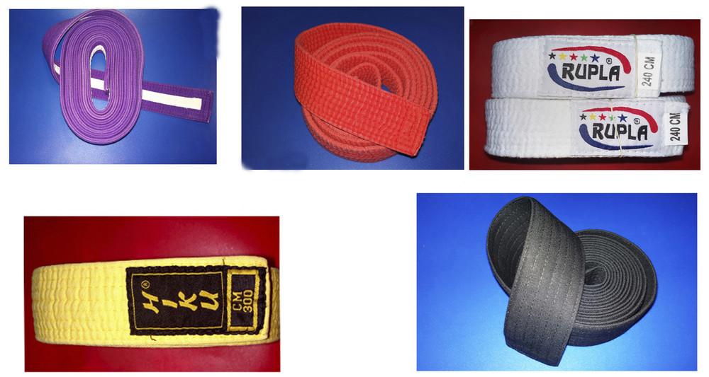 Пояса для тренировок (дзюдо, айкидо и др.) 5 цветов на выбор. В лоте один. фото №1