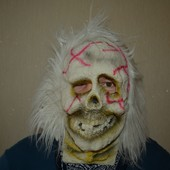 Маска зомби резиновая на Хэллоуин