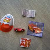 Машинки из Kinder Joy Киндер Джой Новые
