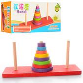 """Деревянная игрушка Пирамидка """"Ханойская башня"""" M00755"""