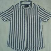 Отличная рубашка с коротким рукавом от Topman,p.M