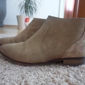 38 р.25 см стелька  осенние замшевые ботинки MAX