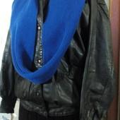 Кожаная куртка на несколько размеров Р 42-48 Пог-64 см.