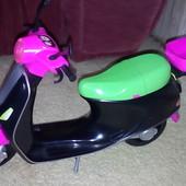 Скутер мотоцикл Барби
