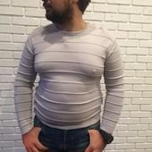 Мужской свитер Ostin серый