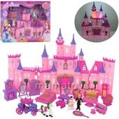 Кукольный Замок SG-2969 Дом, принцесса, карета, мебель, звук, свет