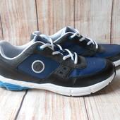 25,5см-38р Bootleg (Clarks) кожаные кроссовки на парня арт.2619