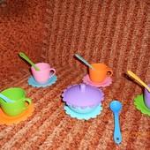 Набор детской посуды Ромашка ТМ Тигрес 16 предметов
