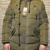 Супер теплая зимняя  куртка ,качественный пошив, производство Польша, р.L,хL, 2 хL,3 хL